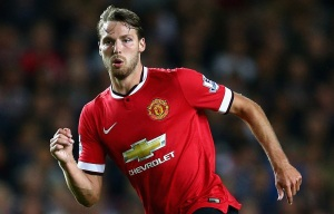 MILTON KEYNES, ENGLAND - AUGUST 26: Nick Powell of Manchester United in action during the Capital One Cup second round match between MK Dons and Manchester United at Stadium mk on August 26, 2014 in Milton Keynes, England. (Photo by Clive Mason/Getty Images)
